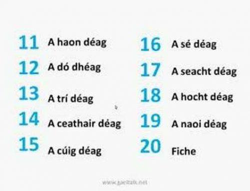 Uimhreacha – Numbers