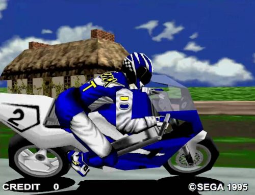 Sega Manx TT Superbike – Arcade Version in attract mode | 1080 60fps