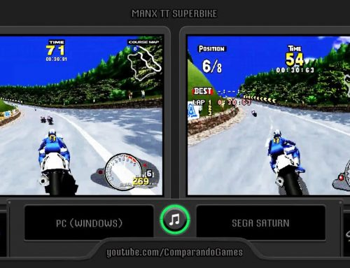Sega Manx TT Superbike (PC vs Sega Saturn) Side by Side Comparison