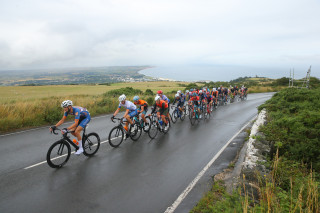 Matthew Holmes prevailed on the Isle of Man