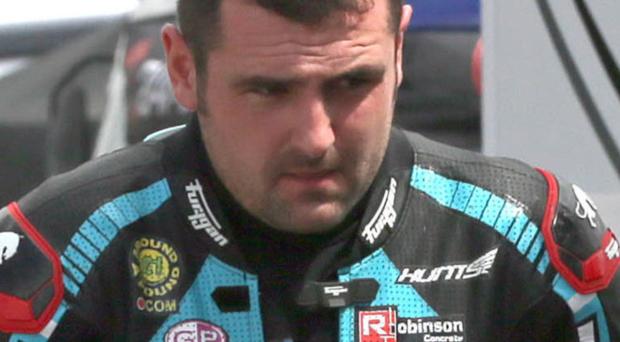 Race face: Michael Dunlop will target the Classic Superbike TT