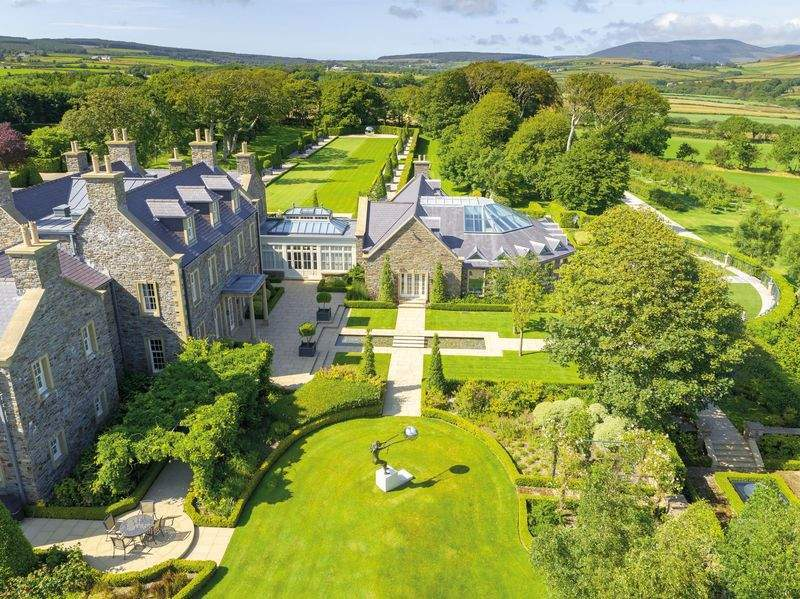 Their home is on sale for £25million