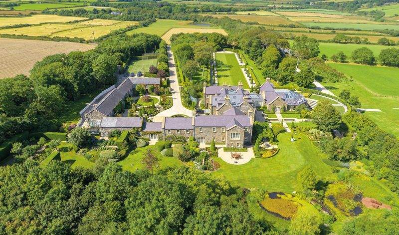 The estate is set over 154 acres