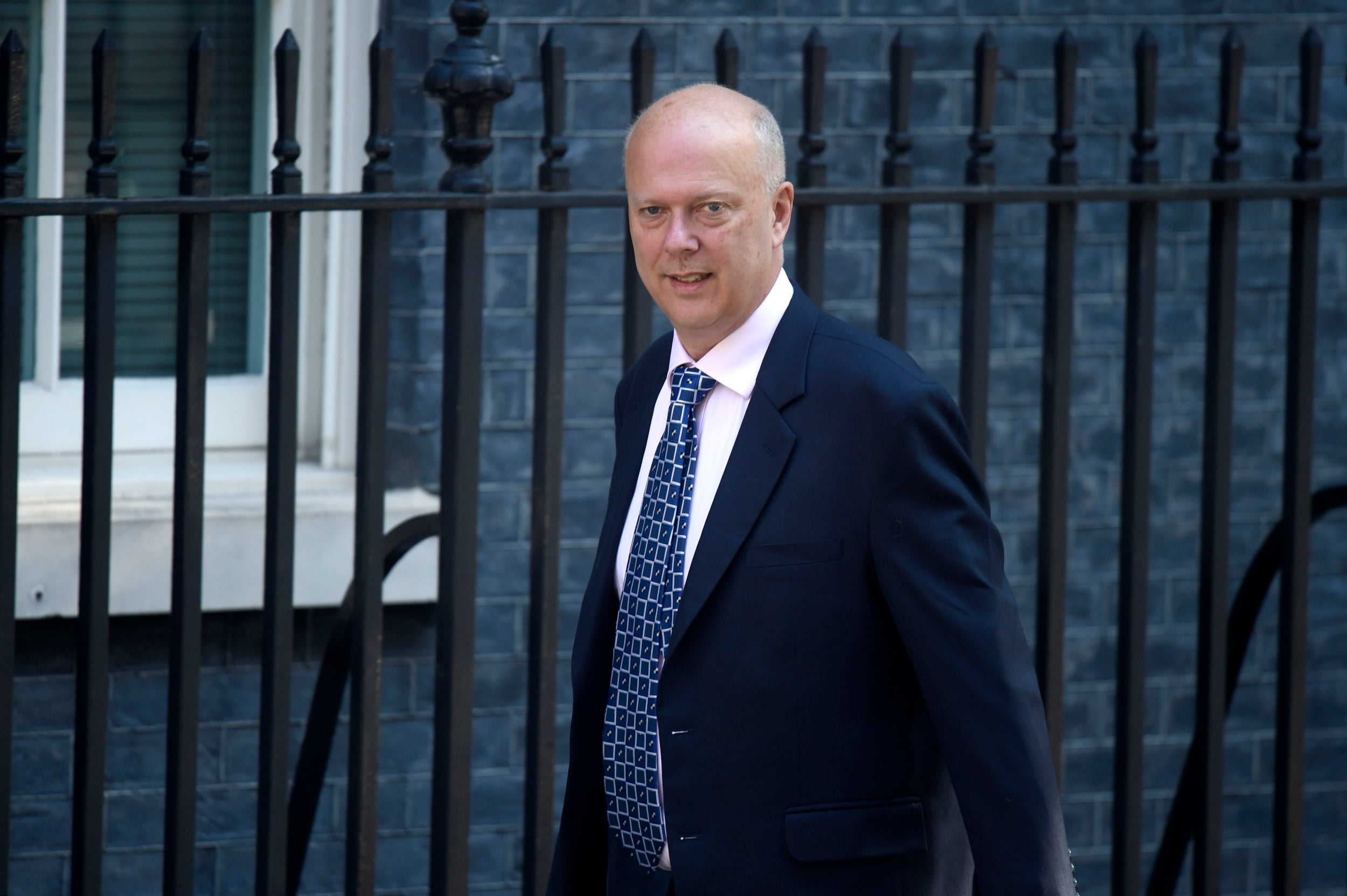Out: Chris Grayling