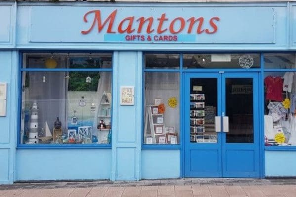 Mantons gifts and cards shop has won 17 national awards including British Independent Retailer of the Year, all from Port Erin, Isle of Man.
