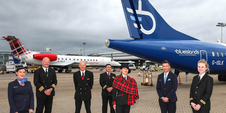 Loganair 'won't be another flybe', MD tell us; Isle of Man to LHR coming?
